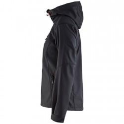 Veste softshell à capuche 4919 femme Blaklader