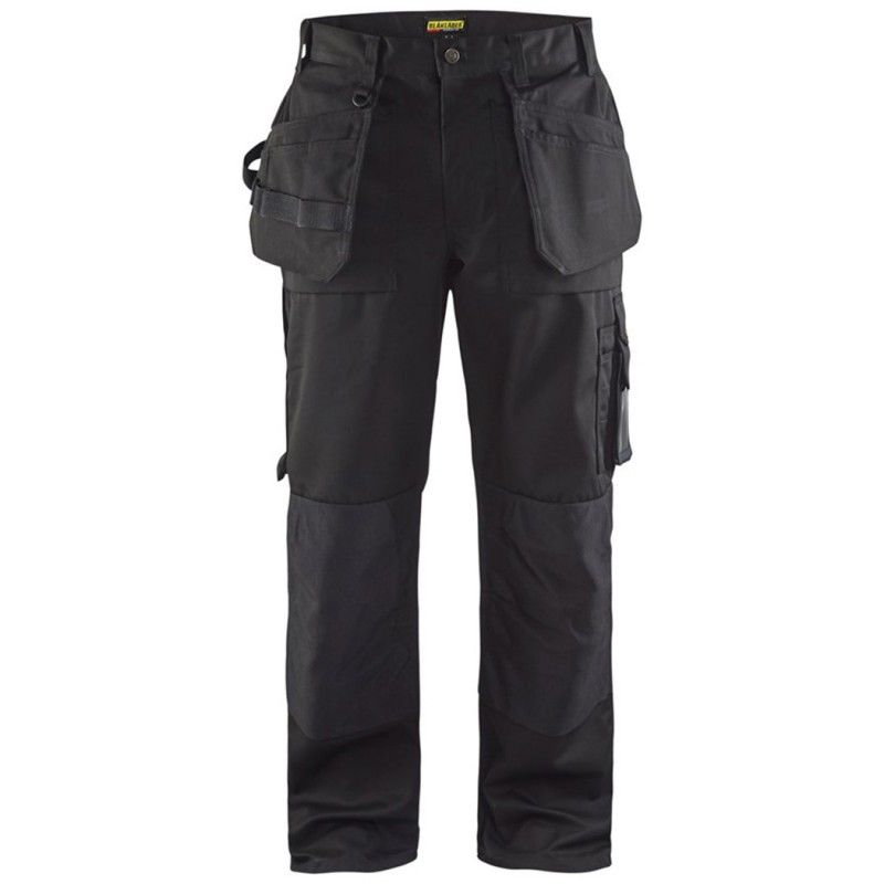 Pantalon de travail artisan - poches libres 1530 Blaklader - 300g/m2