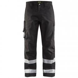 Pantalon ambulancier - transports noir Blaklader 1451