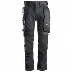 Pantalon de travail AllroundWork Stretch avec poches holster 6241 Snickers