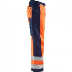 Pantalon de travail Blaklader 1583 haute-visibilité Classe 2