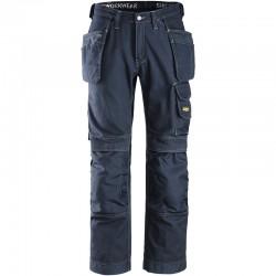 Pantalon de travail artisan Snickers 3215 avec poches holster coton