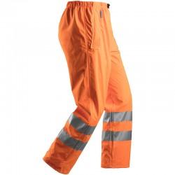 Pantalon de pluie PU haute visibilité Classe2 8243 Snickers