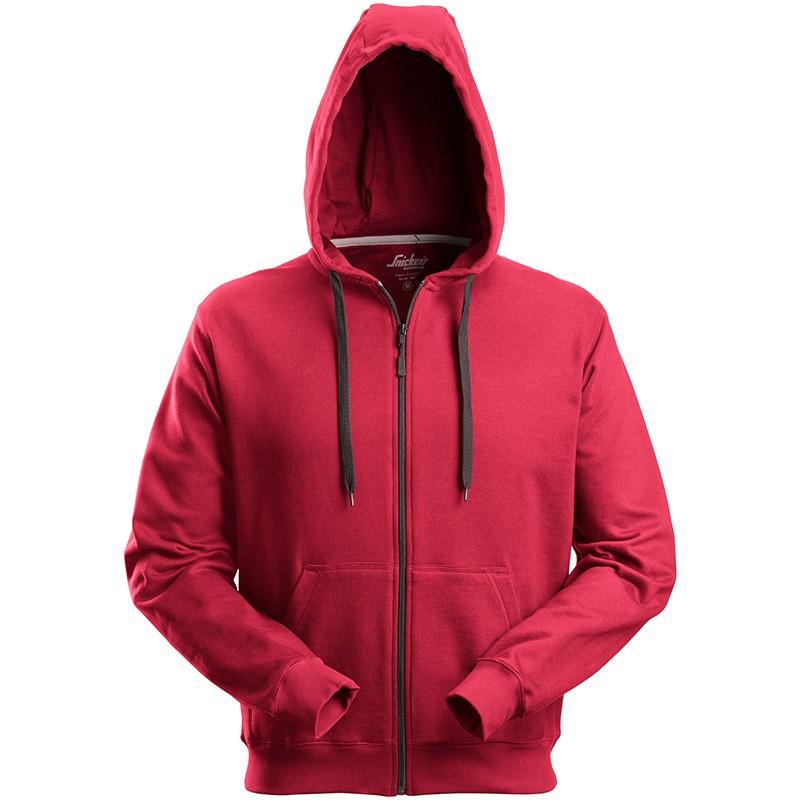 Sweat-shirt à capuche zippé 2801 Snickers