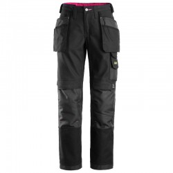 Pantalon femme avec poches holster, Canvas+ 3714 Snickers