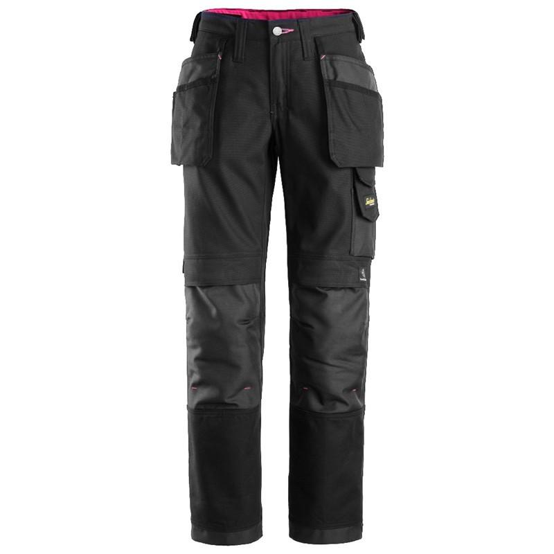 Pantalon femme avec poches holster, Canvas+ 3714 Snickers