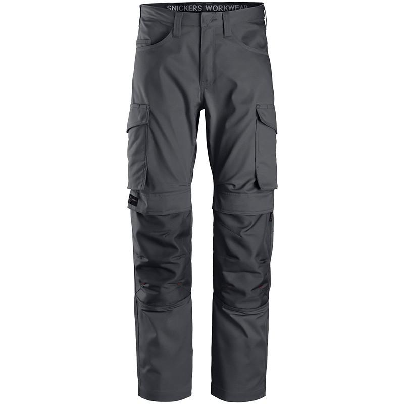 Pantalon de service avec poches pour genouillères 6801 Snickers