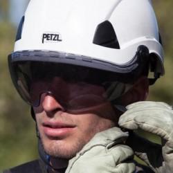 Visière de protection fumée Vizir Shadow Petzl