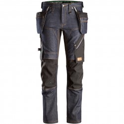 Pantalon+ FlexiWork denim avec poches holster 6955 Snickers