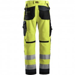 Pantalon+ AllroundWork, haute visibilité, Classe 2 6331 Snickers