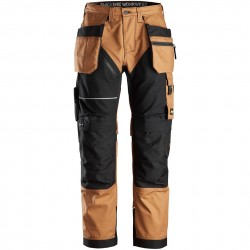 Pantalon+ RuffWork avec poches holster Canvas+ 6214 Snickers