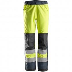 Pantalon AllroundWork imperméable haute visibilité, Classe 2 6530 Snickers
