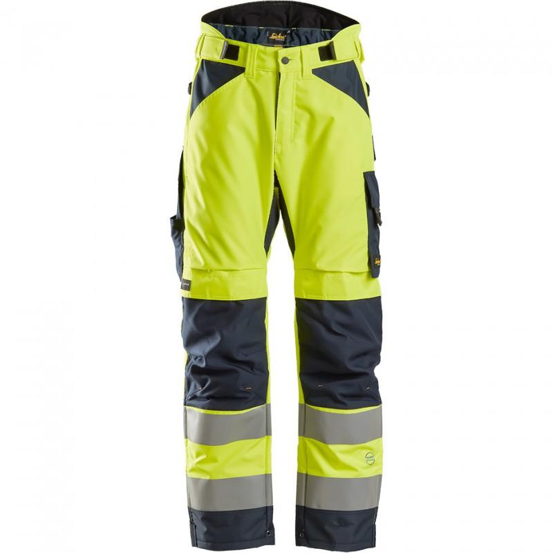 Pantalon d'hiver AllroundWork 37.5 haute visibilité, Classe 2 6639 Snickers