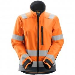 Veste d'hiver pour femme AllroundWork haute visibilité Classe 2/3 1237 Snickers