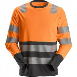 T shirt AllroundWork haute visibilité manches longues 2433 Snickers