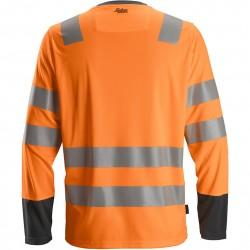 T-shirt AllroundWork haute visibilité manches longues 2433 Snickers