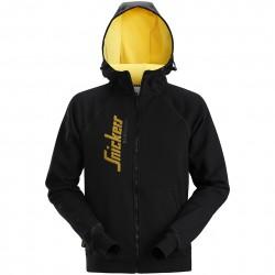 Sweat zippé à capuche avec logo 2888 Snickers