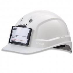 Porte badge casque PHEOS Uvex