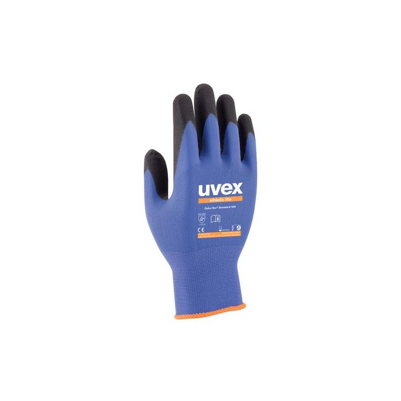 Paire de gants de précision contre les risques mécaniques ATHLETIC LITE Uvex