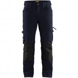 Pantalon artisan stretch sans poches flottantes 1989 Blaklader