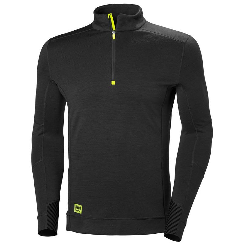T-Shirt thermo à col zippé Lifa Helly Hansen