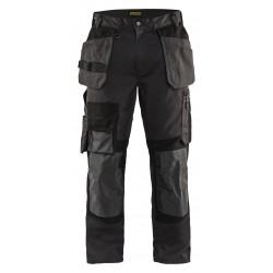 Pantalon artisan stretch avec renfort kevlar 1554 Blaklader