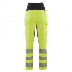 Pantalon de grossesse de travail haute visibilité stretch 4D 7100 Blaklader