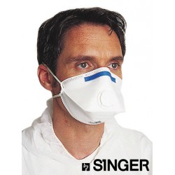 Masque pliable avec valve anti grippe FFP3 Singer