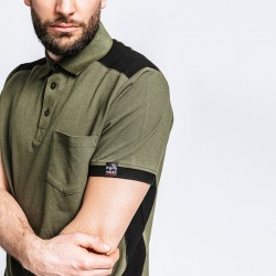 Polo de travail en coton bio Swansea Forest Workwear