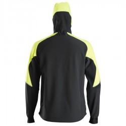 Sweat-shirt à capuche zippé néon FlexiWork 8025 Snickers