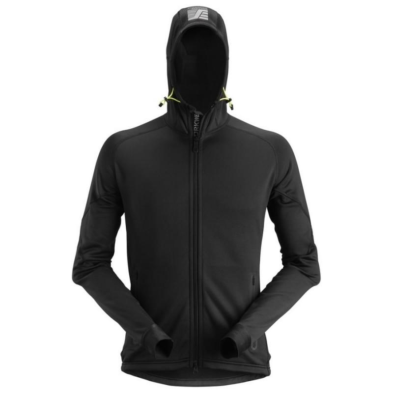 Sweat-shirt à capuche zippée en Polartec Flexiwork 8002 Snickers