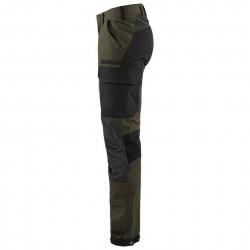 Pantalon de travail stretch 4D 1422 Blaklader