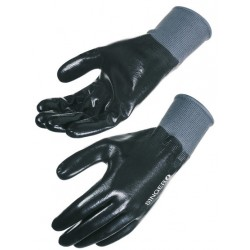Gants nitrile support polyamide Singer NYM157NB (Lot de 10 paires)