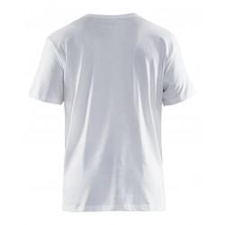 Lot de 5 tee-shirt 100% coton uni Blaklader