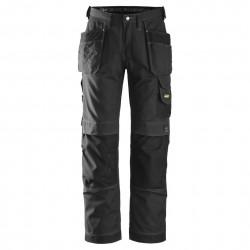 Pantalon d'artisan Rip-Stop avec poches holster 3213 Snickers