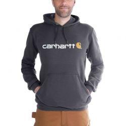 Sweat-shirt capuche Carhartt logo poitrine