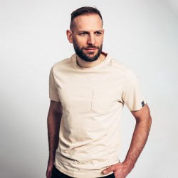 T-shirt de travail coton bio avec poche Forest Worwear