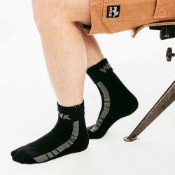 Chaussettes de travail coton bio/élasthanne PARACURU Forest Workwear