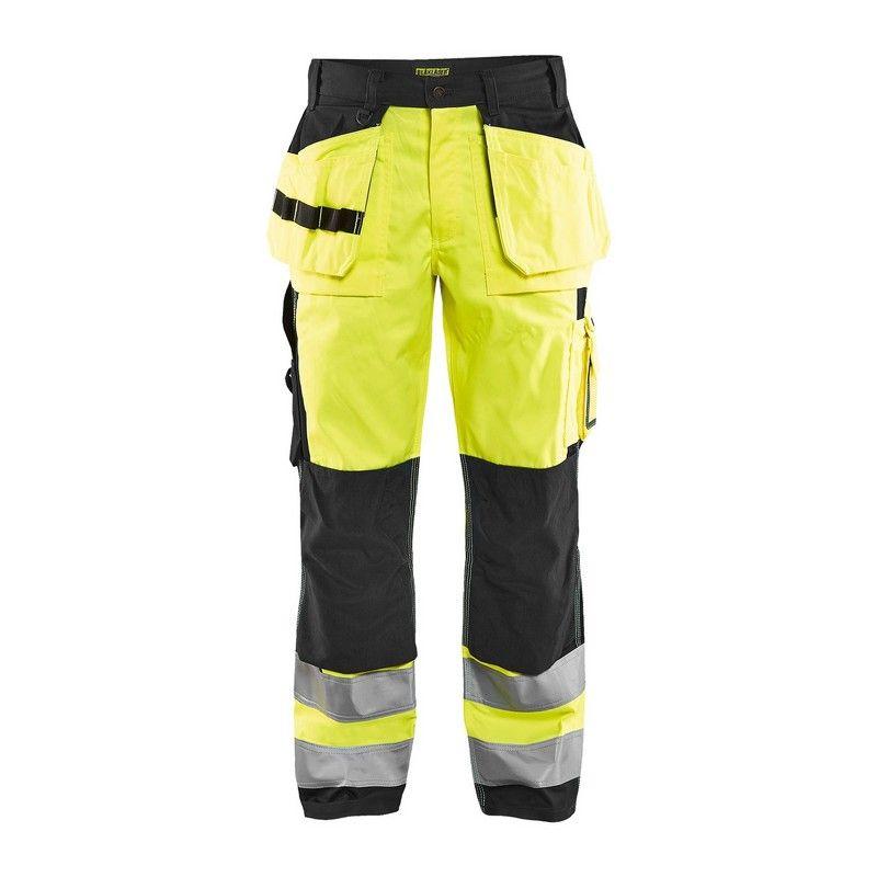 Pantalon de travail Blaklader 1533 haute-visibilité Cl.2