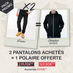 Pack 2 pantalons GURIU + 1...