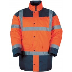 Vêtement de travail - Parka Haute-Visibilité