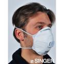 Masques respiratoires FFP2 avec valve