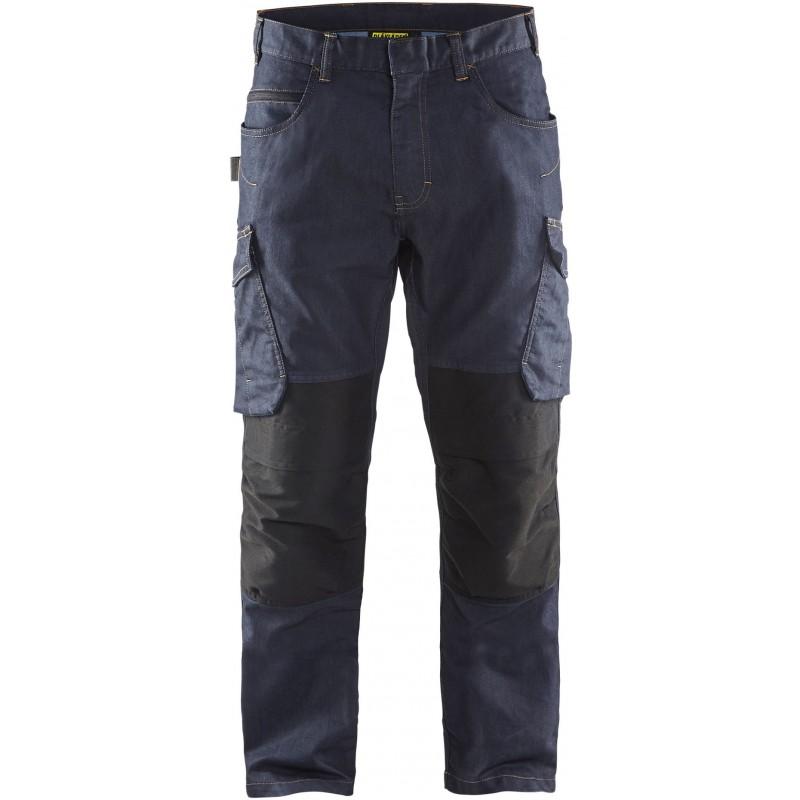 Pantalon service denim stretch 1497 Blaklader