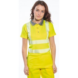 Polo Pro Fluo Femme