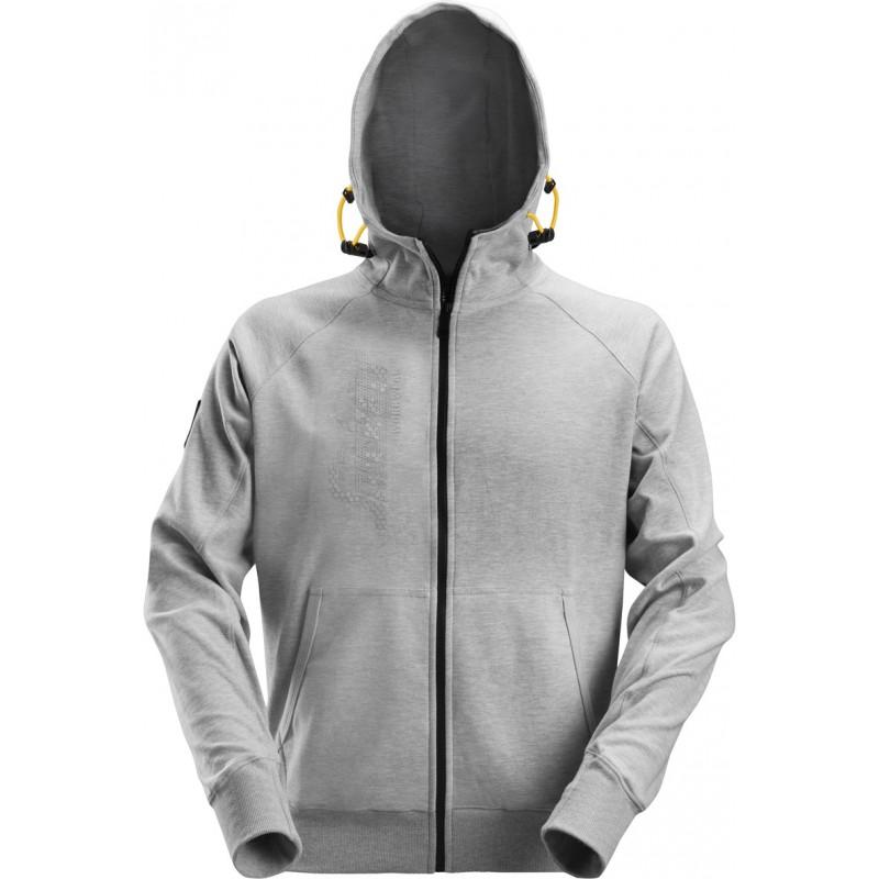 Sweat à capuche zippé avec logo 2880  Snickers Workwear