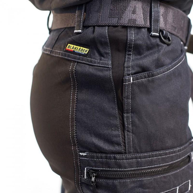 Pantalon Stretch Blaklader Denim 7159 Femme rCoxWdBe